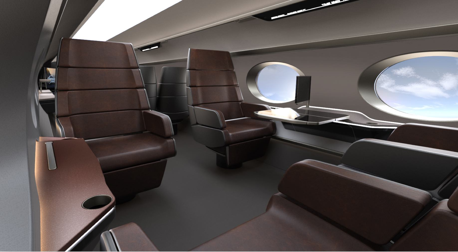 Captivating CHAIR. Redefining VIP Aircraft Seating